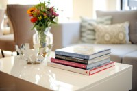 Use Coffee Table Books as Decor - Fashionable Hostess