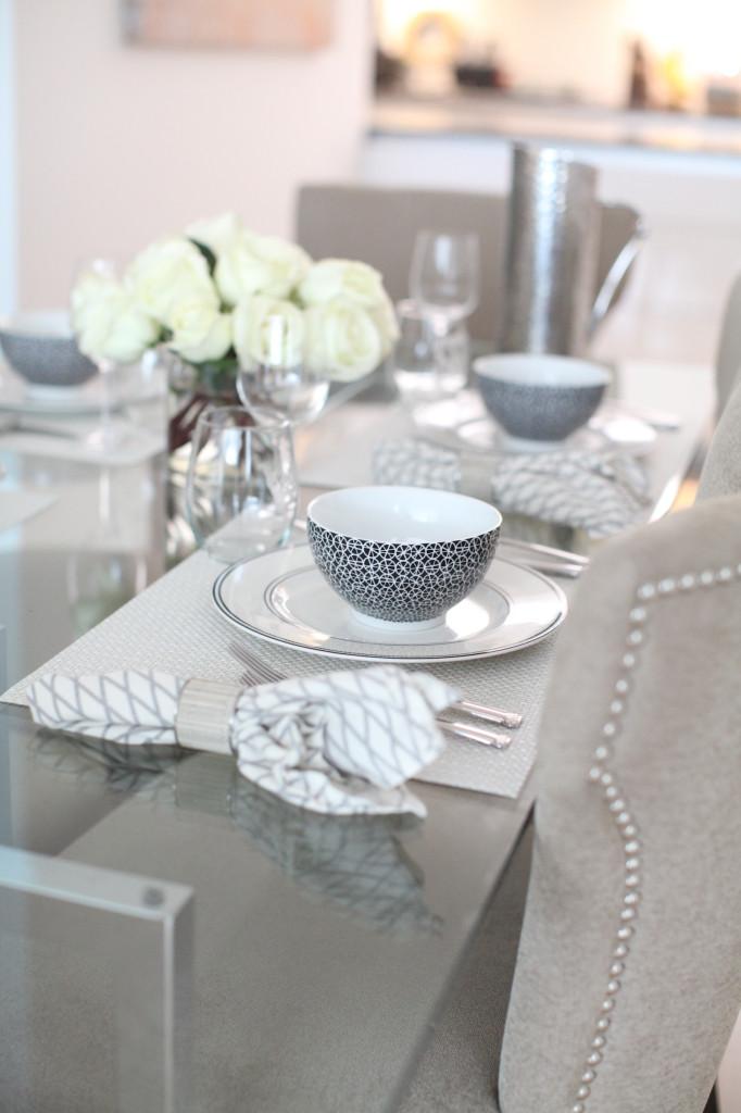 Host an Elegant Black  White Dinner Party  Fashionable