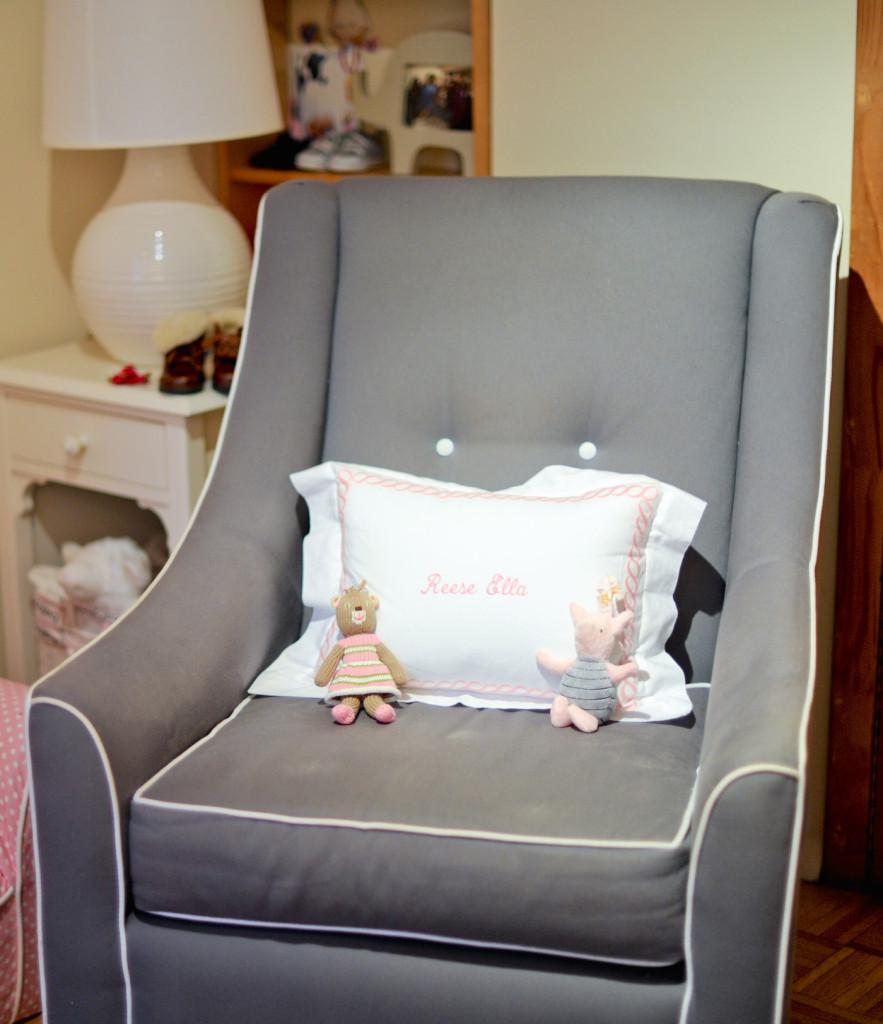 Baby Girls Pink Nursery  Fashionable Hostess