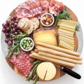 Create a gorgeous cheese platter for summer entertaining with salami