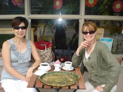 Lunch at a charming sidewalk cafe