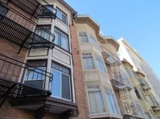 bay windows in San Francisco
