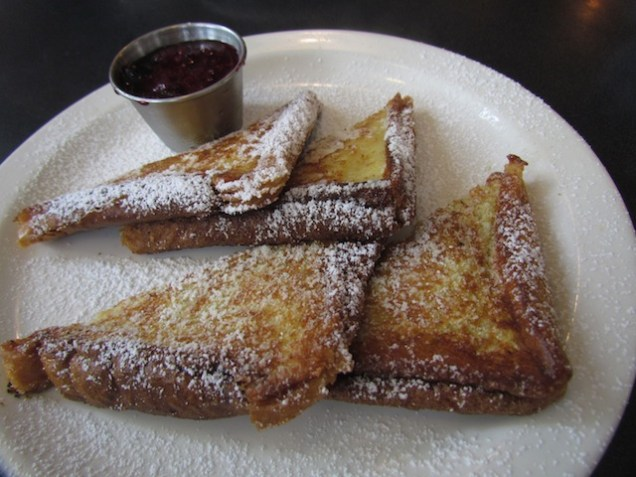 vegan French toast, tastes better than made with eggs