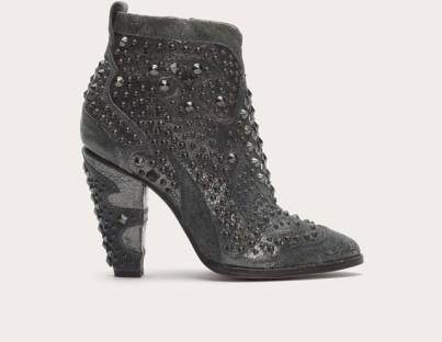 FRYE Remy Deco Bootie - Charcoal - $399