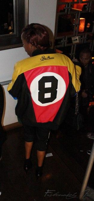 Oversize jacket, nice reminder of the 90's