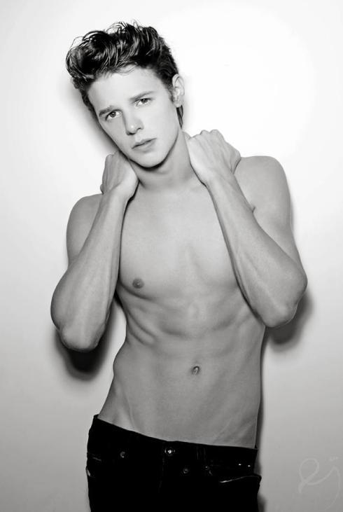 Ethan James Fashion Model