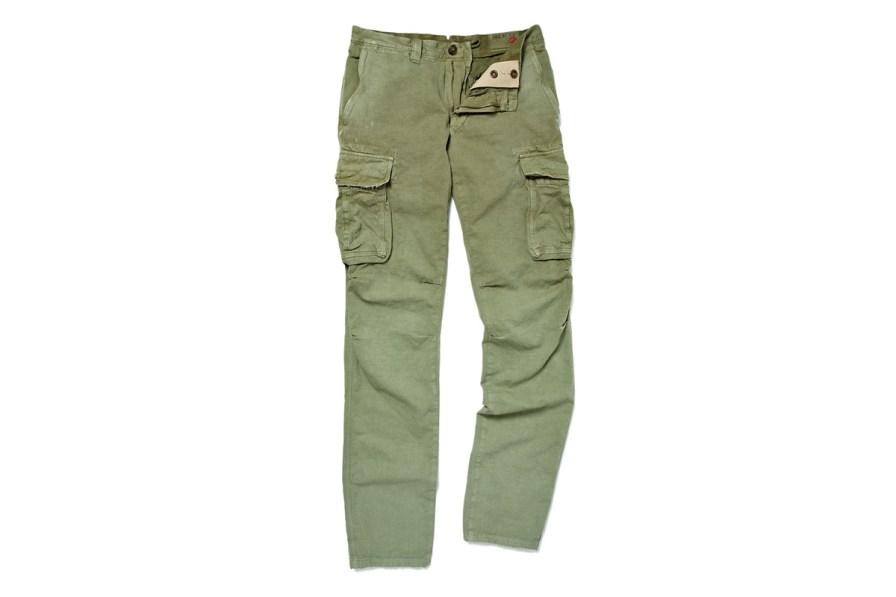 Slowear Incotex Slim-Fit Cotton and Linen-Blend Cargo Trousers