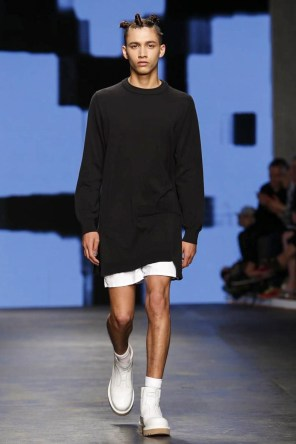 Christopher Shannon Menswear Spring Summer 2015 Fashion Show in London
