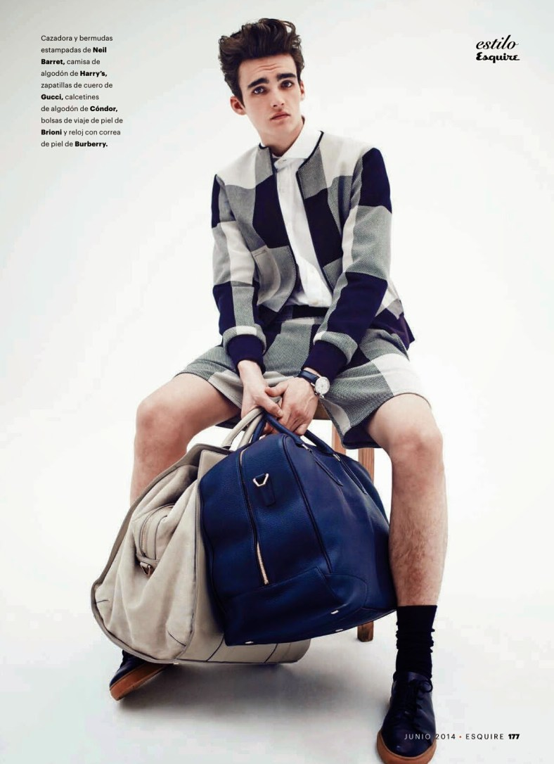 """""""HIT THE ROAD, JACK"""" ELLIOT VULLIOD FOR ESQUIRE SPAIN BY MARCIN TYSZKA.3"""