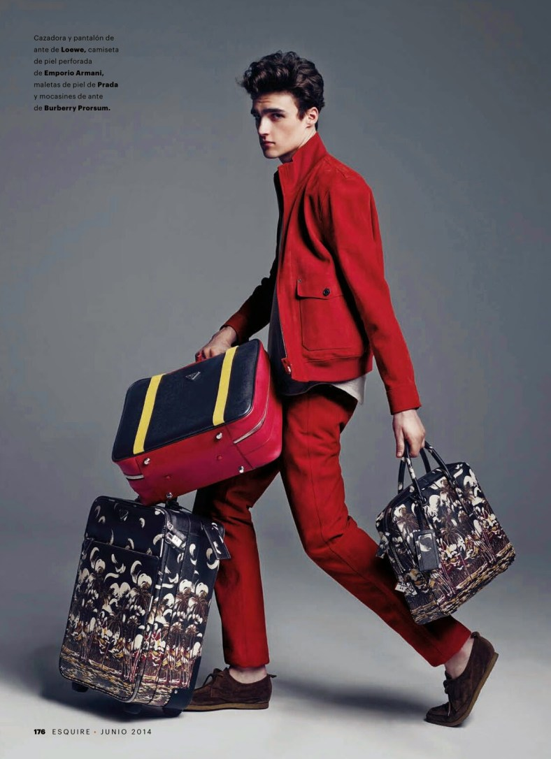 """""""HIT THE ROAD, JACK"""" ELLIOT VULLIOD FOR ESQUIRE SPAIN BY MARCIN TYSZKA.6"""