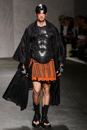 KTZ Menswear Spring Summer 2015 Fashion Show in London