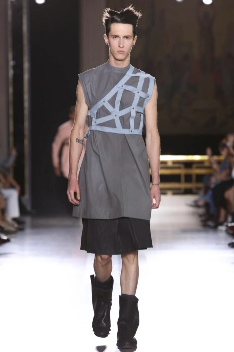 Rick Owens, Menswear, Spring Summer, 2015, Fashion Show in Paris
