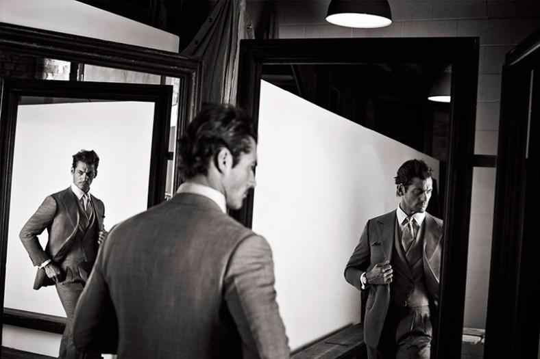 David Gandy by Roger Rich for Glass Magazine