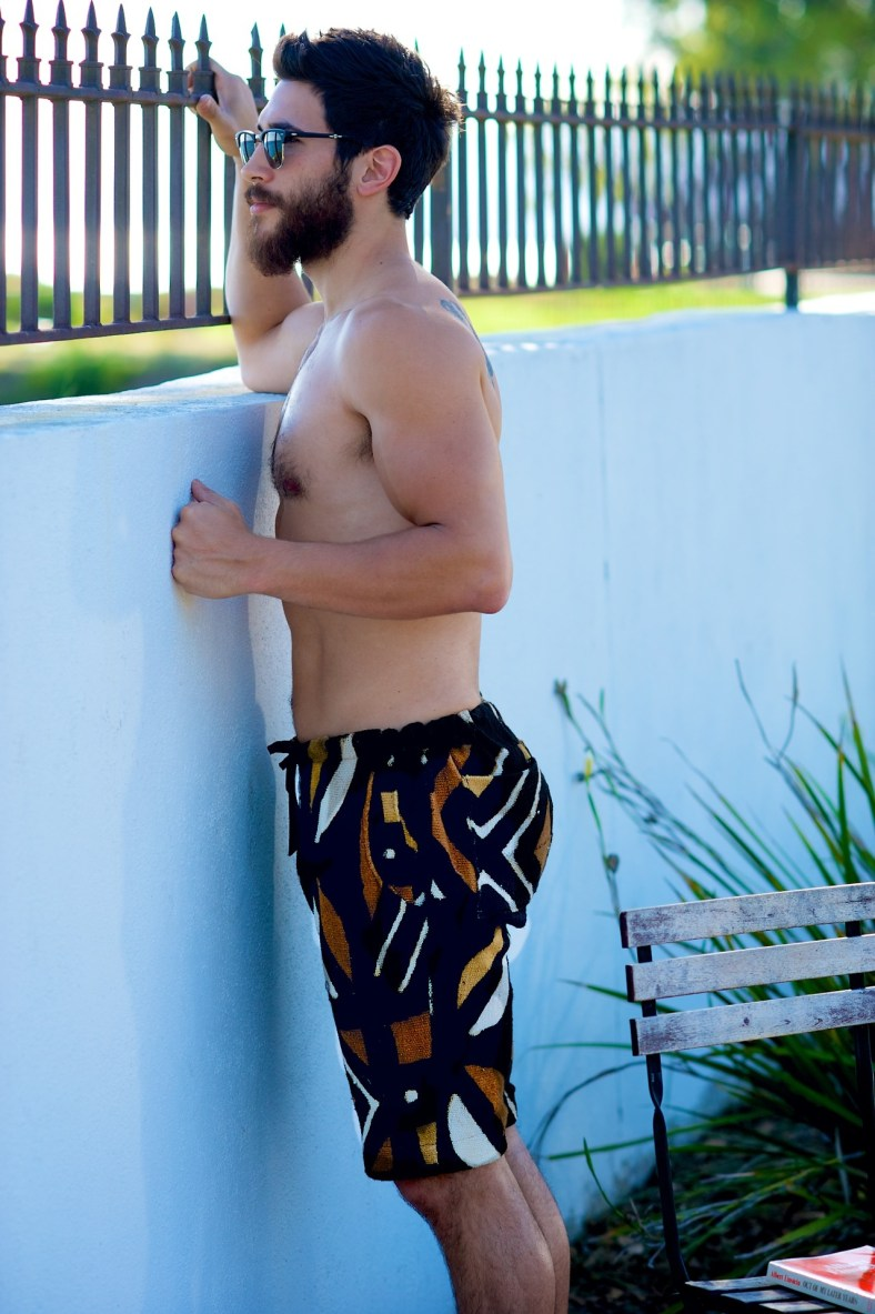 Mulit-Ethnic Shorts Hand Crafted in Los Angeles, California