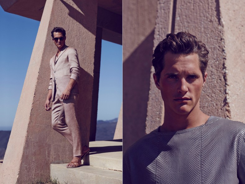 Ollie Edwards by Bruno Staub for GQ China