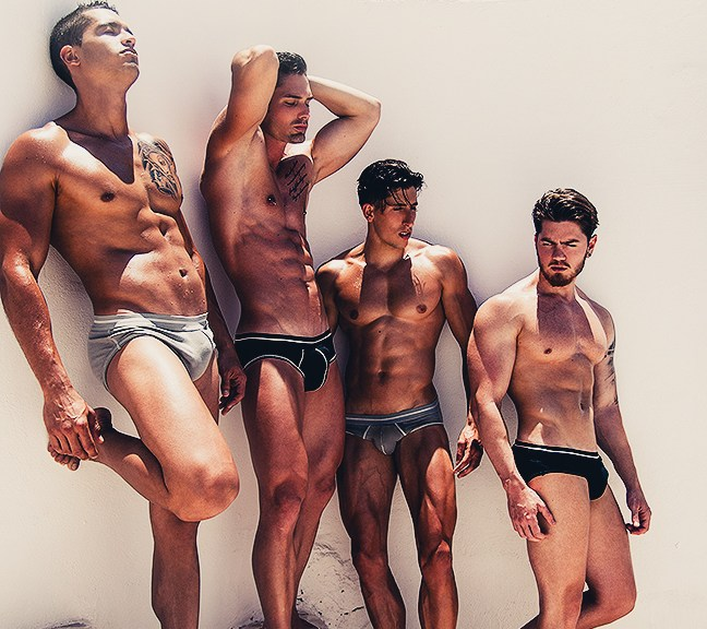 started our journey by presenting the campaign by Adrian C. Martin for Australian underwear brand Atelier DT.