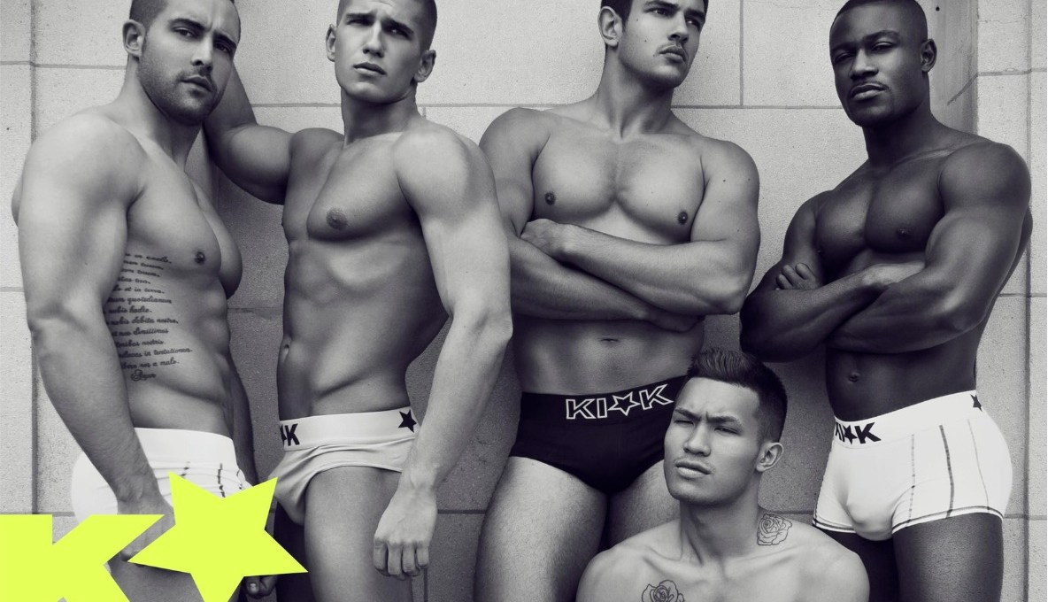 FRANCOIS SAGAT'S NEW UNDERWEAR COLLECTION