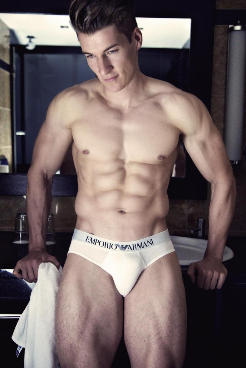 Fitness model Alex B. by PFM Photography