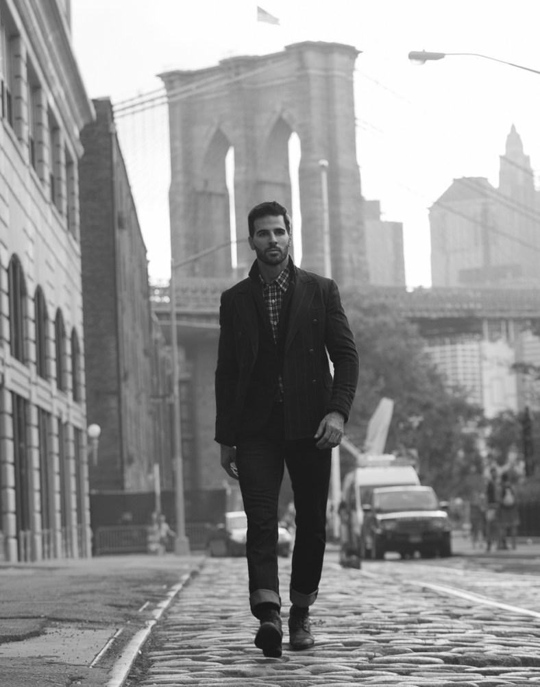 """A cobblestone Wander"" Clark Lichty by Giuliano Correia"