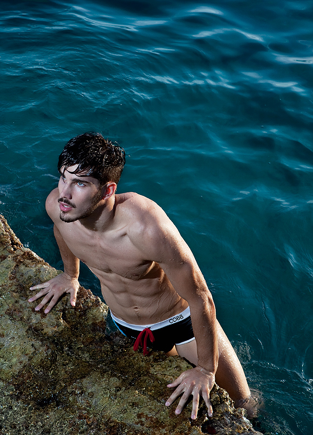 At magnificent rocky shore and perfectly clear blue sea. Alexander COBB Men's Underwear® is proudly 100% European quality, from concept to the final product. The perfect combination of materials and design, the ultimate blend of cotton and elastin in range contemporary cuts in a number of limited edition prints. Each Alexander COBB® garment carries the signature of the Scandinavian designer who holds is known for his award-winning style and patterns are the patterns are exclusive to his collection, so you will not find them anywhere else.  It is also special that Alexander COBB® depicts koi through the art of tattoo – one of the most beautiful, most intriguing, and the boldest tattoos. Metaphorically, we believe the Alexander COBB® range will feel like tattoos, your second skin. www.alexandercobb.com