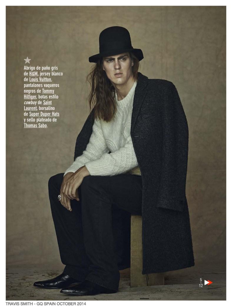 GQ Spain - October 2014 Photographer: Sergi Pons Stylist: Joana de la Fuente