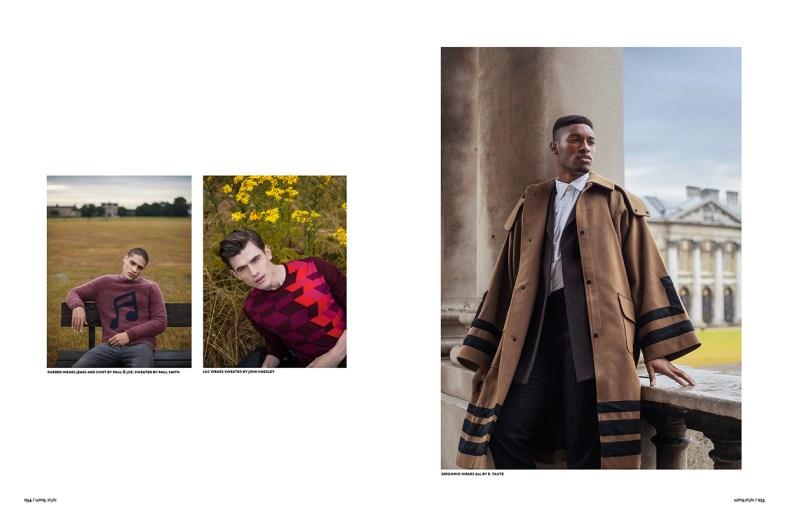 WinQ Magazine Ph: Steeve Beckouet Styling: Franck Strachan