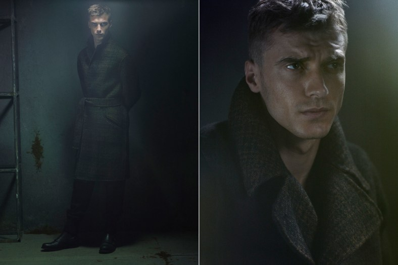 Man of the World #9  'ARMY SHADOWS' Ph: Robbie Fimmano Styling: Bill Mullen