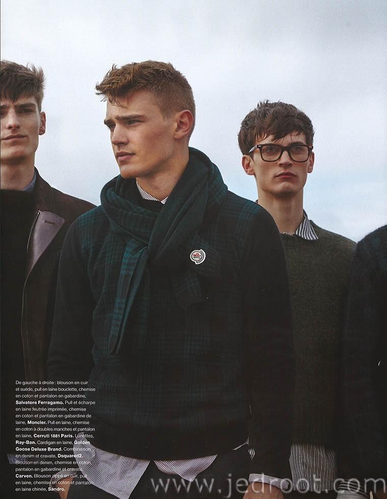 'JEUX DE PLAGE' | Numéro Homme #28 Fall / Winter 2014.15