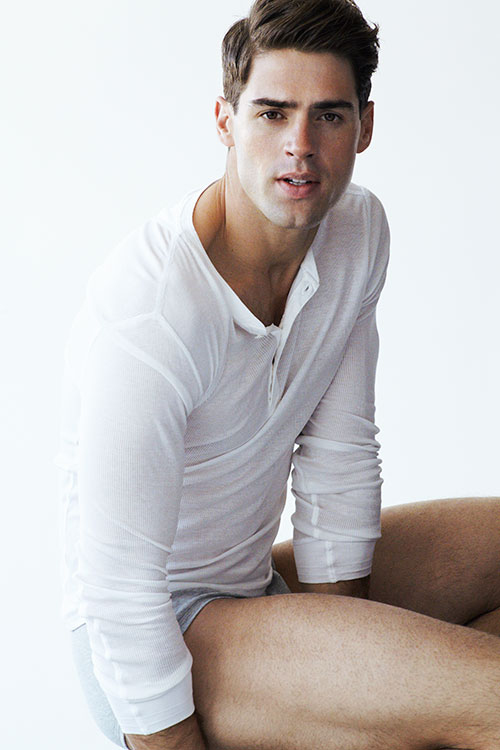 CHAD WHITE FOR DAMAN STYLE BY NICK HEAVICAN - Fashionably Male