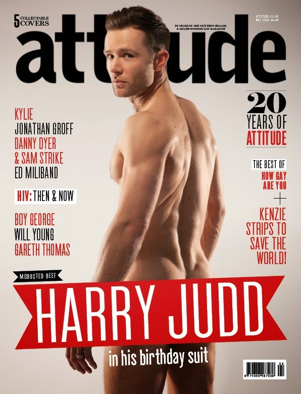 HENRY JUDD FOR ATTITUDE MAGAZINE