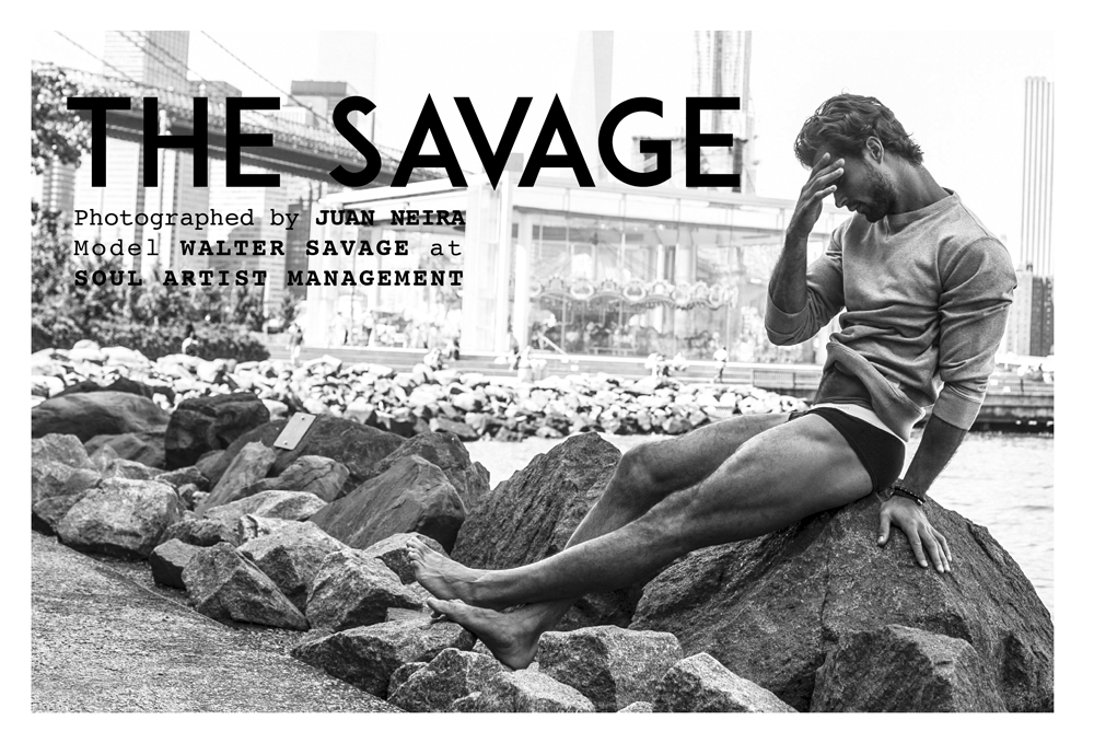 THE SAVAGE BY JUAN NEIRA FOR FASHIONABLY MALE | EXCLUSIVE