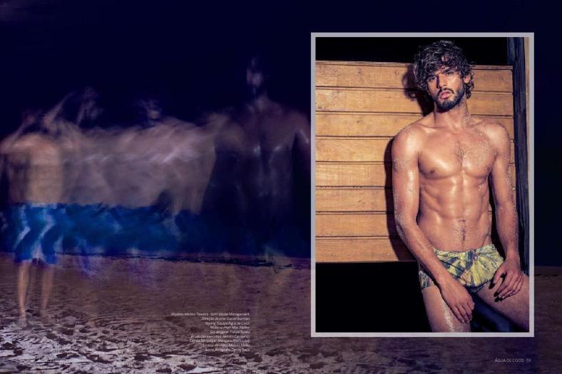 """Night Shift"" | Summer 2015 Magazine - Água de Coco por Liana Thomaz"