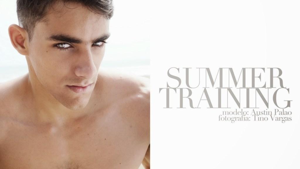 Peruvian New Face Austin Palao by Tino Vargas