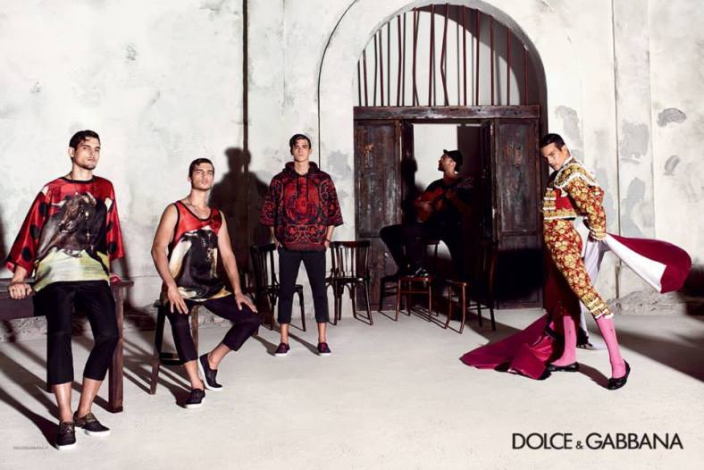 Dolce & Gabbana S/S 2015 by Domenico Dolce