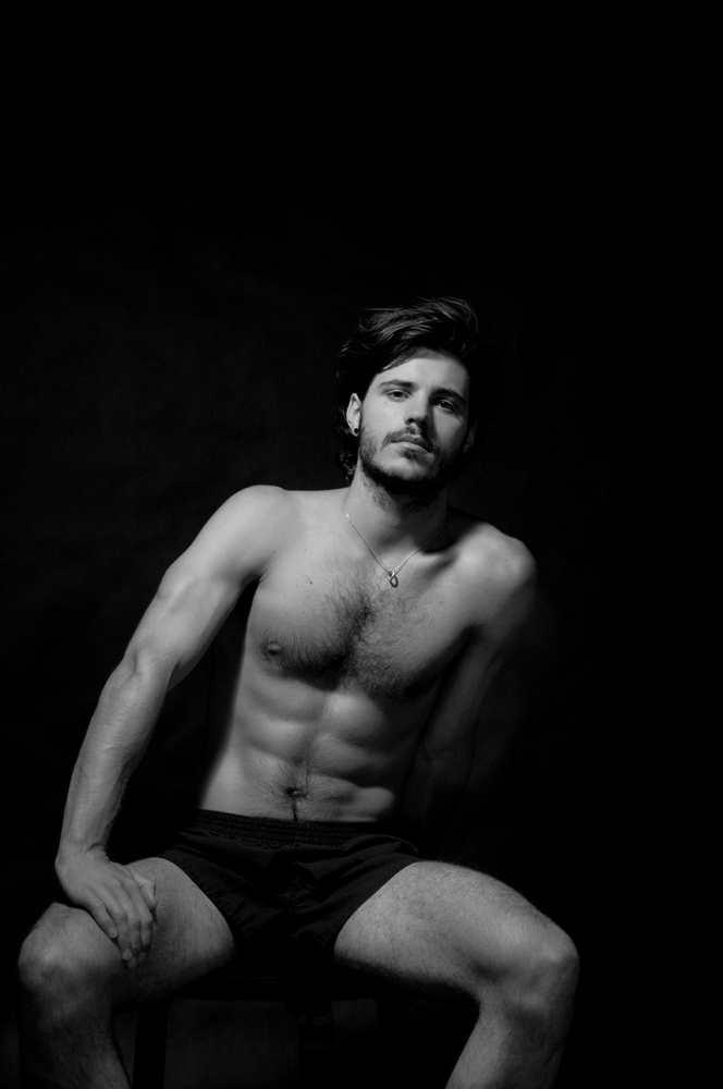 shoot with Matthieu Charneau for the December/January issue of OUT Magazine.