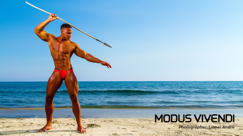 Modus Vivendi new campaign - Masai Line Just in time for Christmas, Modus Vivendi presents the fifth part of its latest campaign for 2015 in which each line from its new collection is individually presented by a selected photographer renowned for his outstanding talent and unique style. So far we have visited four destinations (England, USA Greece and Spain) and this time we take you to France, a country synonymous with fashion and good taste and incidentally one of the brand's strongest markets. Not to be missed! Here we take a trip to southerly Aix-en-Provence, close to the Mediterranean and home to photographer Lionel André. This outstanding artist worked with models James Laurens and Kylani' As Model, who strongly portray masculine ideals in their presentation of this new line of underwear and athletic loungewear, the Masai line. Dramatic and powerful, André's shots bring us a blast of heat in the midst of winter. Brilliant colours and one of the most iconic of photographic themes, the sea, take a leading role. With designs inspired by the Masai warriors of Kenya, the new apparel comes in true reds and black and includes favourite items such as the two styles of briefs and boxers, the langot and saruel pants, all in new colours and fabrics. The line offers also a robe, a brand new t-shirt design and lounge pants, all made of the highest quality materials and offering tremendous comfort. Credits Underwear and clothing: Modus Vivendi (www.e-modusvivendi.com) Photographer: Lionel André (www.lionelandre.com) Model: James Laurens, Kylani' As Model