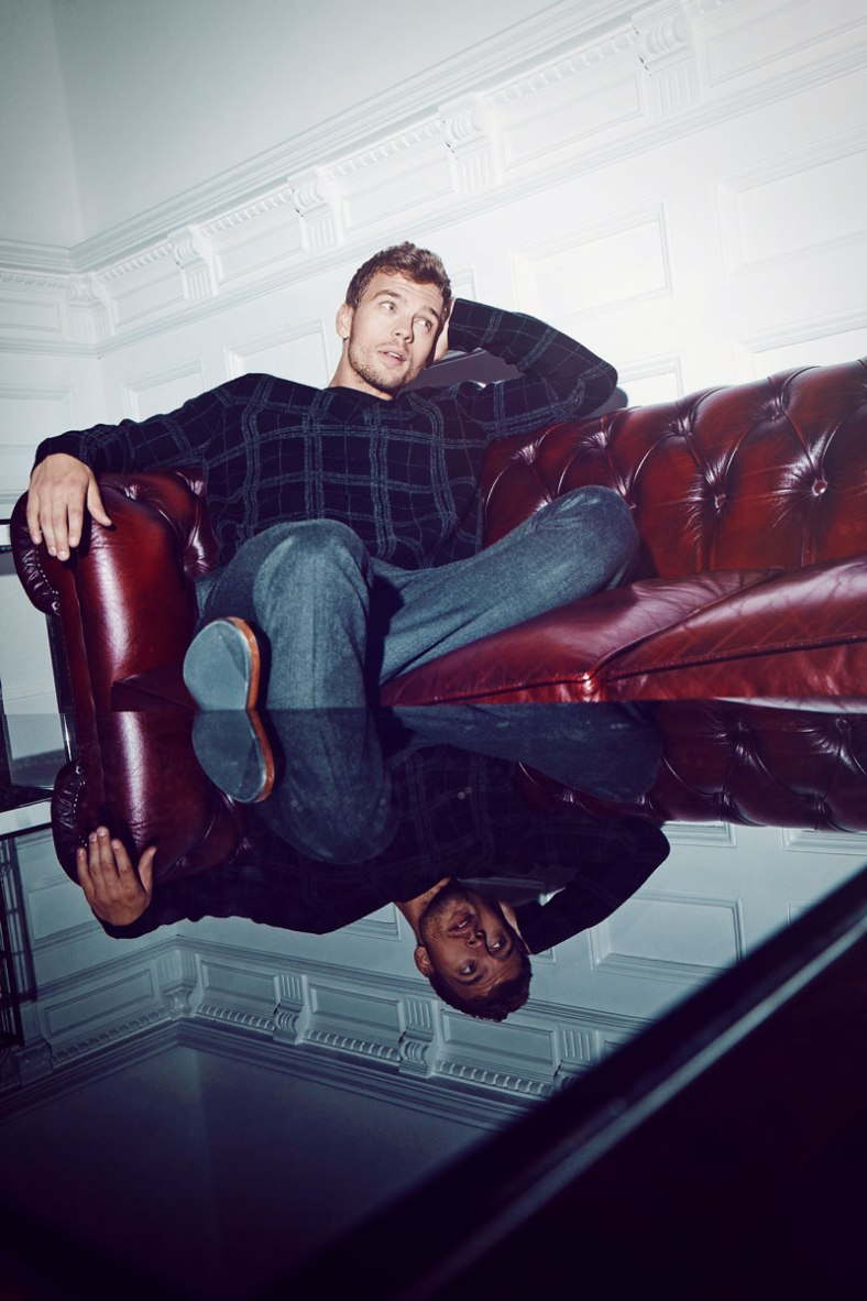 Top model Benjamin Eidem stars new ads for online fashion retailer NLYMAN