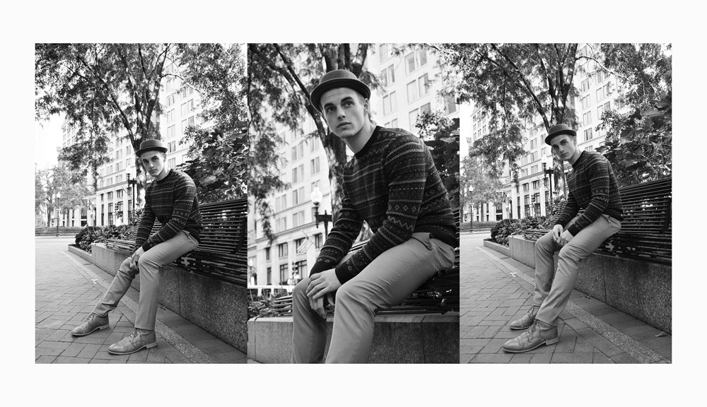 Do you remember the last featuring by Bosnian Photographer Mladen Blagojevic with Australian dancer Patrick Cook? Well, this is a fashion sequel joined with other beautiful Swedish dancer Richard Nilsson, the Boys of Boston a lovely way to show you the streets of Boston, posing the guys with crowd, in a coffee, sitting in a park bench, has so many touristic places to shoot a perfect fashion session.