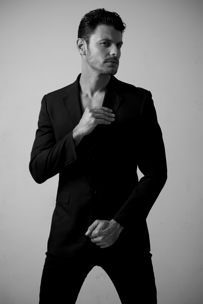 Actor and model Eduardo Coutinho, L'AGENCE TEAM agency, exclusively photographed by test Talles Bourges in Sao Paulo.