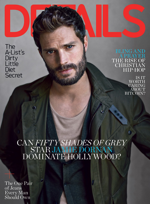 'Fifty Shades' hottie Jamie Dornan heats up the pages of Details February 2015 issue showing off just how sexy and captivating he can be.