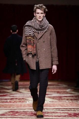 Missoni Menswear Fall Winter 2015 Collection in Milan