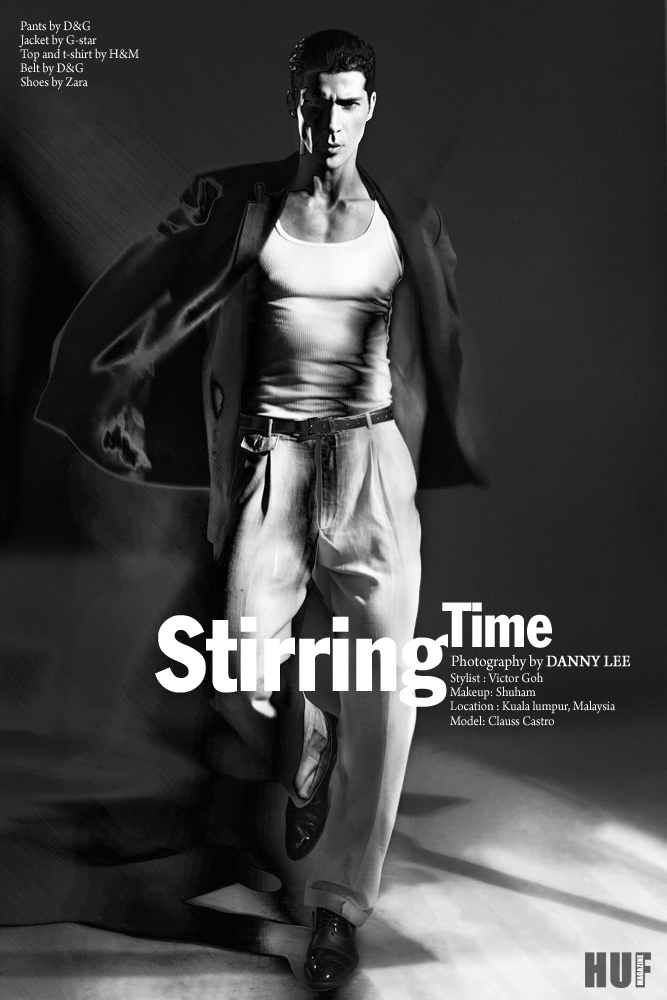 Stirring Time, photography by Danny Lee for HUF Magazine