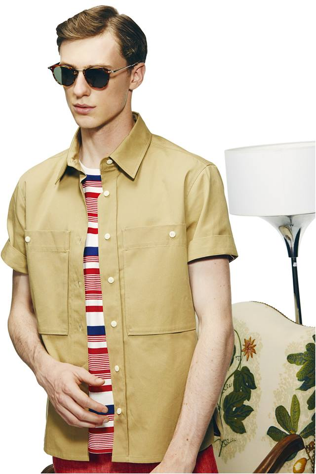 #EFFORTLESSFRENCH - Maison Kitsuné Spring/Summer 2015 - MEN