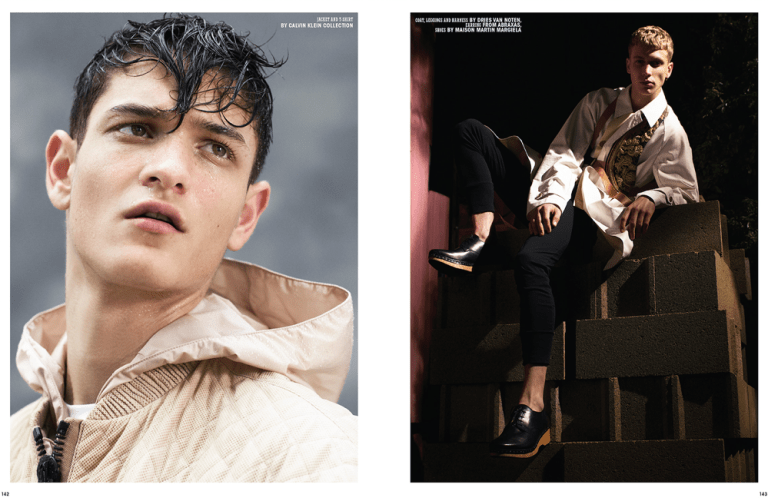 "10 Men Magazine released it Spring 2015 Issue entitled ""Youth"" photographed by Dario Catellani with Fashion Editor by Hector Castro, starring by models Lucas at Scoop, Jason Ellis at Elite London, Robbi at Tomorrow is Another Day and Willis at Select. Styled in fashion and luxury garments like Versace, Martin Margiela, Calvin Klein, Dries Van Noten, Gucci, Vivienne Westwood, McQ, Lanvin, among others."