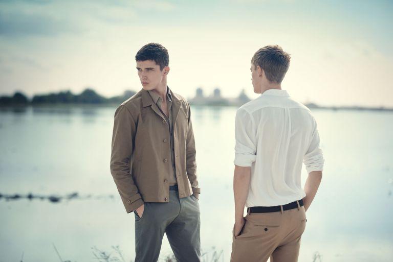Major Inditex fast fashion company Zara exposed its New season: Spring/Summer 2015 Campaign starring by models Victor Nylander, David Alexander Flinn and Matthew Holt.