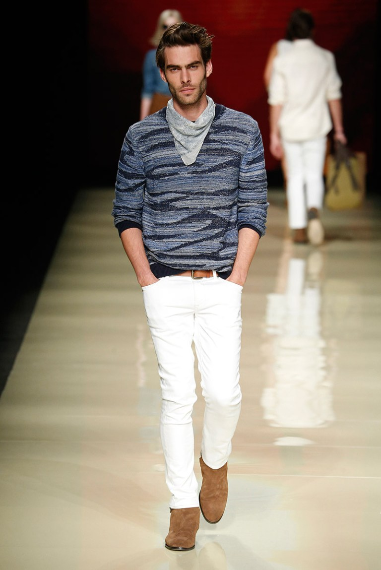 Mango showed its Spring/Summer 2015 collection during 080 Barcelona Fashion.