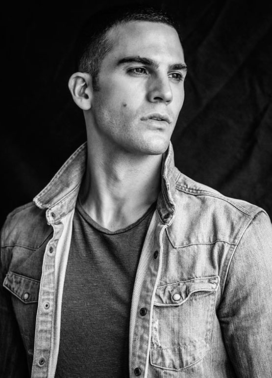 Striking American model Saville Dorfman at 'Soul Artist Management' stops by the studio of photographer Greg Vaughan for an eye-catching portrait session.