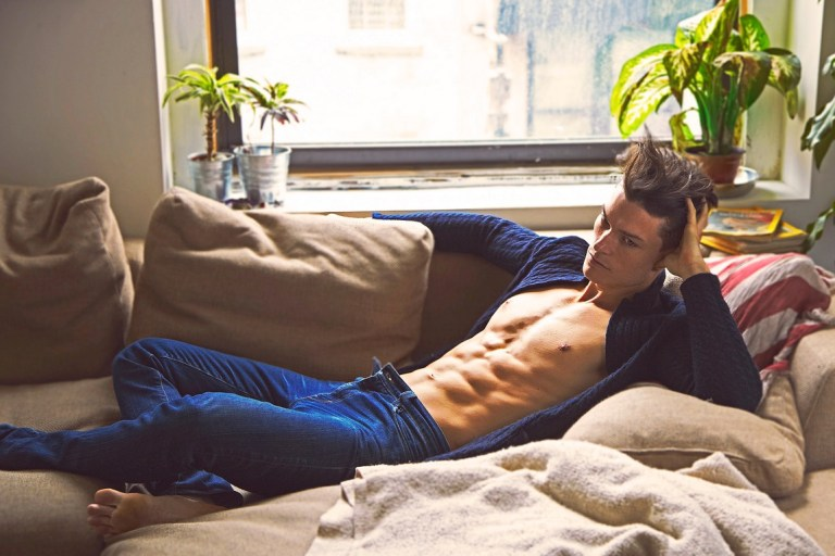 Dashing American male model Alex Erickson teams up with photographer Charles Quiles for a radiant new session in NYC and also featuring a film by Quiles. Alex is with Major Models Milan and Boss Models NYC.