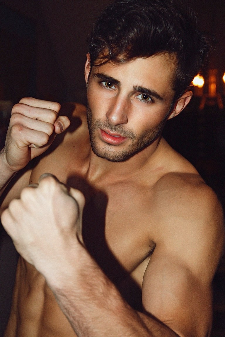 A lovely candid set starring the ravishing Josh Truesdell photographed in his Hawaii apartment by Joseph Lally.
