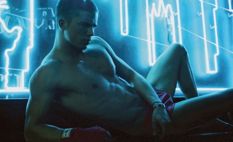 River Viiperi @SoulArtist for ODDA 8 Decades issue representing the 80s 'Body Culture & American Gigolo' essence by Taylor Edward & Fashion by Gregory Wein.